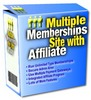 Thumbnail Multiple Memberships Site with Affiliate (PLR)